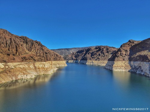 rocks canyon lake sky 2017 march lumix panasonic nickfewings hooverdam usa nevada lakemead landscape