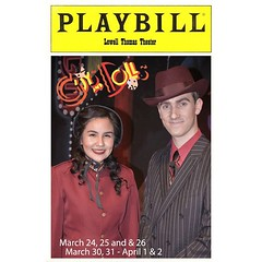 The spring musical starts this week. It's Guys and Dolls! It starts Friday night at 7:30 with performances on Saturday night (7:30) and Sunday at 2 as well as next weekend.