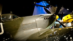 Spitfire Vs Messerschmitt Bf 109. Museum of Flight @ KBFI.