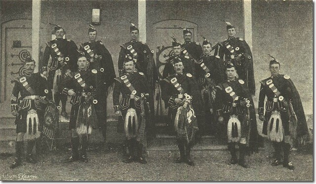 Pipers of the 1st Battalion, India 1897