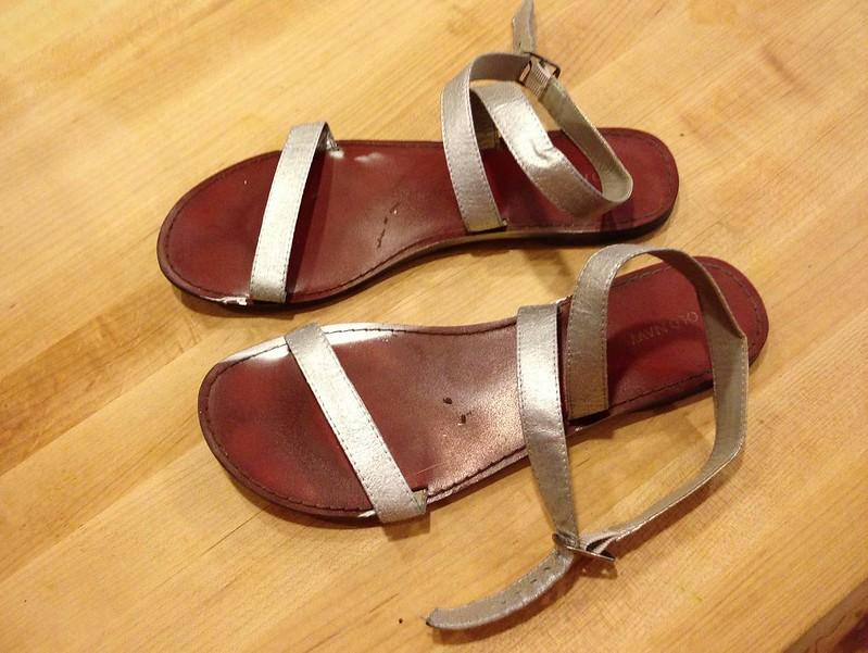 Old Sandals - After