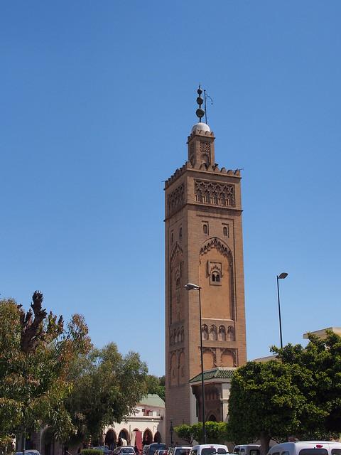 舊城區Moulay Youssef清真寺的宣禮塔