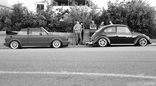 VW Golf mk1 cabrio y escarabajo '65