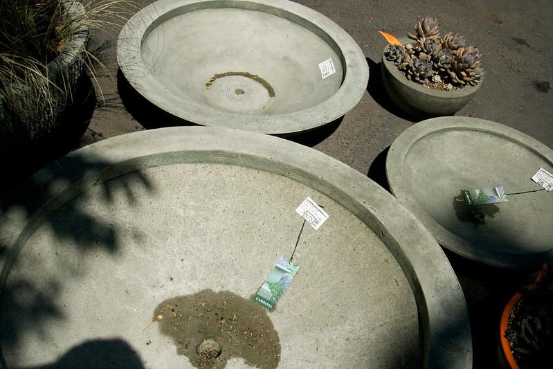 flat pots  3365