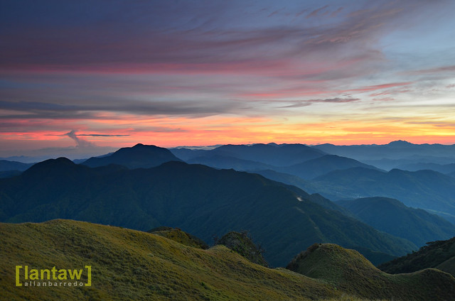 Sunrise @ Mt. Pulag