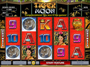 Tiger Moon Free Spins