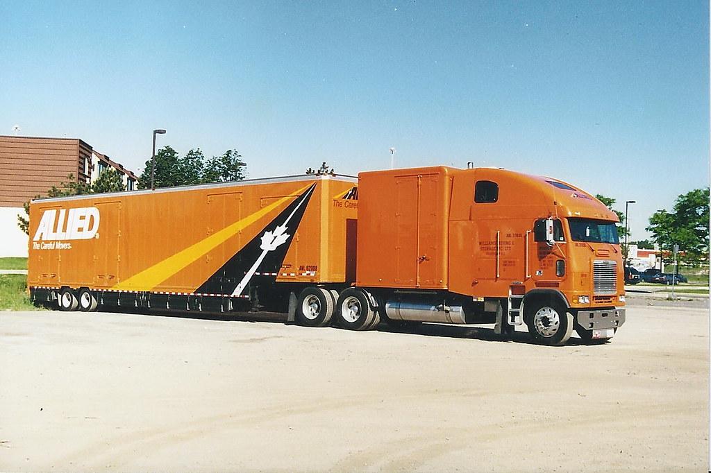 Custom Freightliner Coe with Trailer | trucks kickass