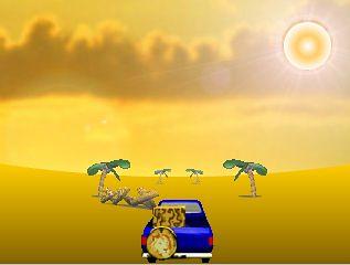 Desert Race Game