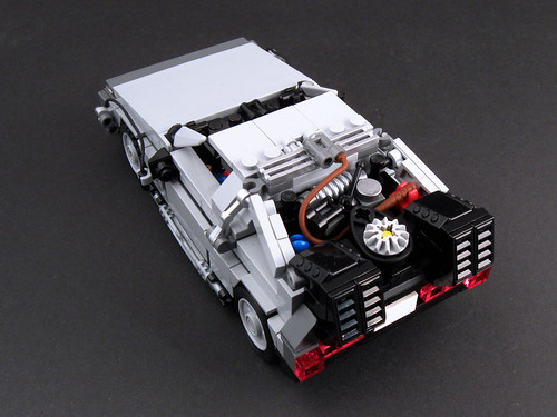 DeLorean - Top View