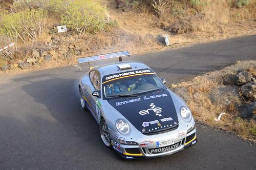 Miguel Fuster / Dani Cué  Rallye Senderos de La Palma 2013