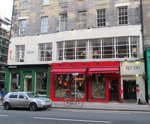 Art Deco Style Windows, Edinburgh