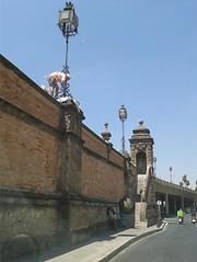 El Puente de San Bernardo está siendo restaurado