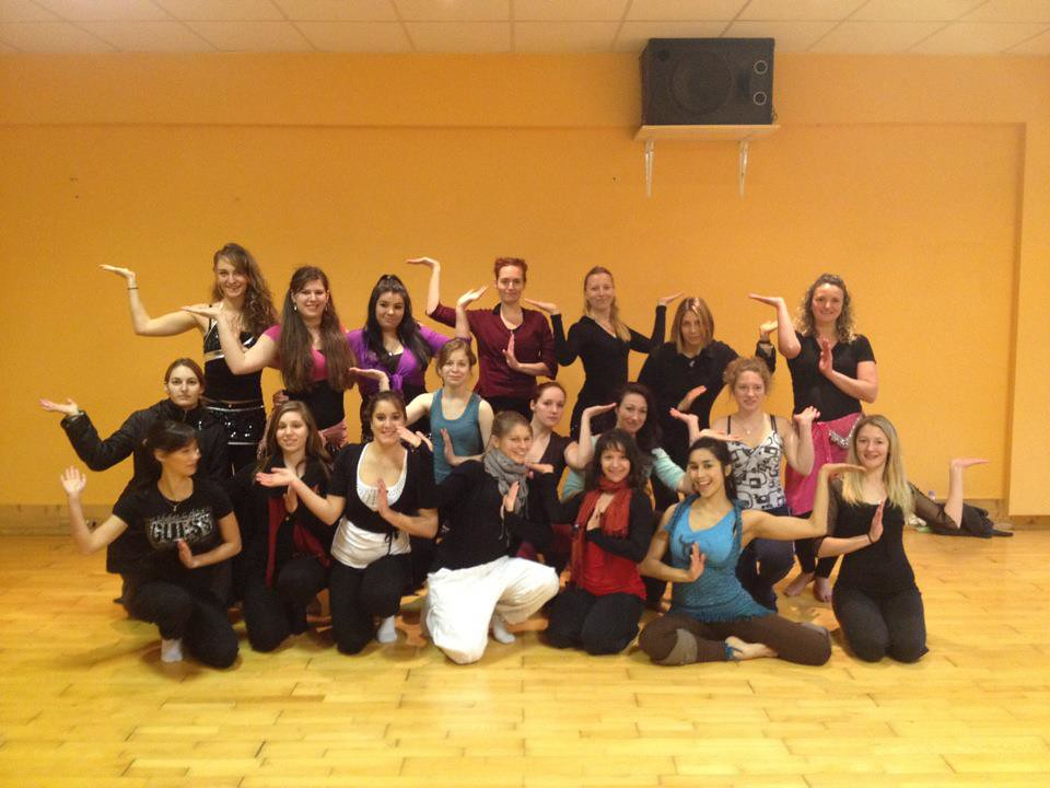 2012 ANASMA TEACHES IN BESANCON