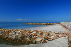 Groynes, Moreton Bay, Qld, Australia
