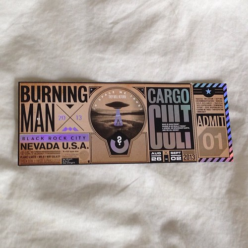 TICKETS BURNING MAN