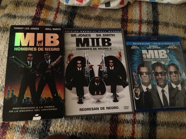 MIB home vídeo