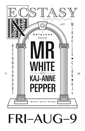 Mr. White & Kaj-Anne Pepper flyer