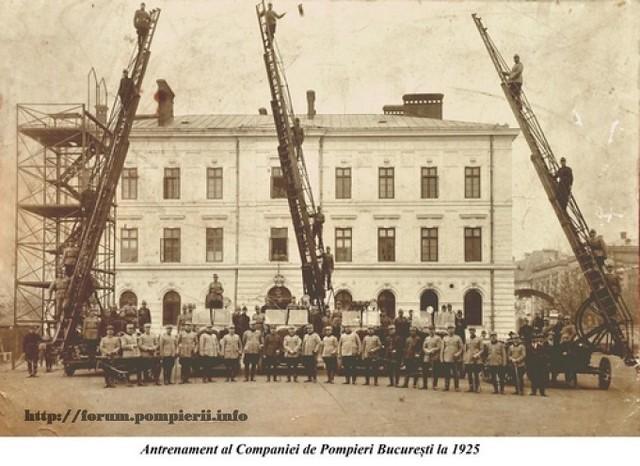 Pompieri Bucuresti 1925