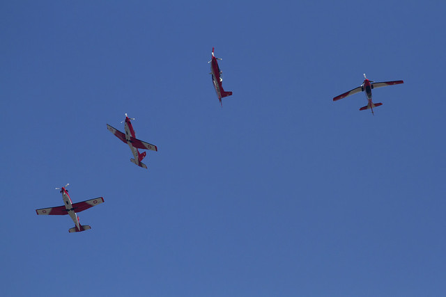 Swiss Pilatus PC-7 Demo team