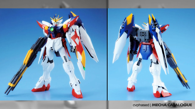 MG Wing Gundam Proto Zero EW - Colored Prototype Images