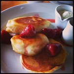 #Fluffy #pancakes for #brunchcork at #fennsquay with @caitl