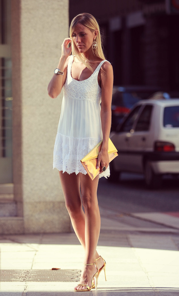 style lover white dress XIX