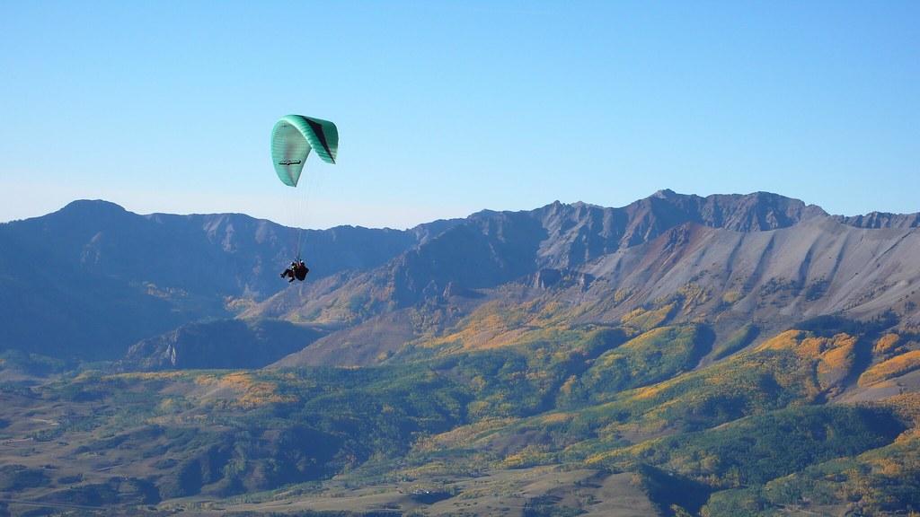 tandem paragliding Gold Hill