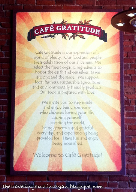 Cafe Gratitude - Kansas City, MO