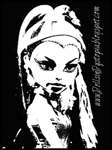 Nefera B+W by DollsinDystopia