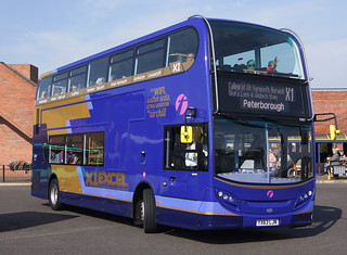 First East England (King's Lynn) 33807 YX63LJN © David Bell