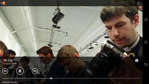 ดูคลิปวิดีโอ 4K บน Sony Xperia Z Ultra