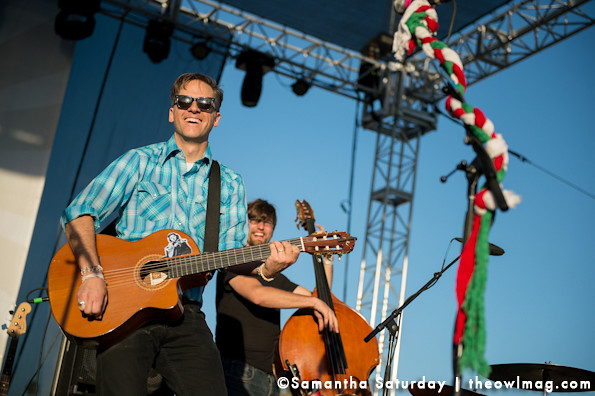 Calexico @ Way Over Yonder, Santa Monica, CA 10/5/13