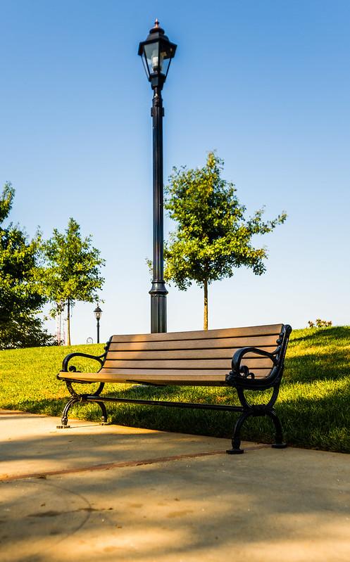 A Park Bench - WWPW - 2013 - Duluth - Georgia