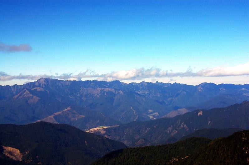 雪霸連稜(From 無明山) 4