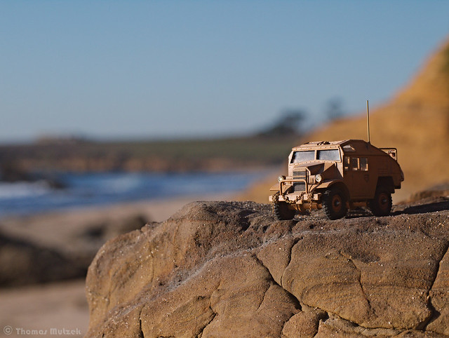 Chevrolet Quad Gun Tractor ~1/48 Scale
