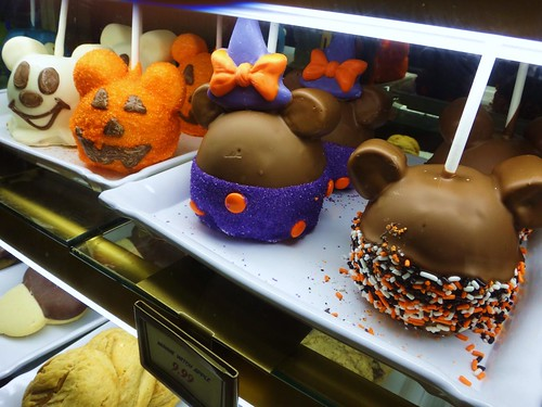 Disney Candy Apples