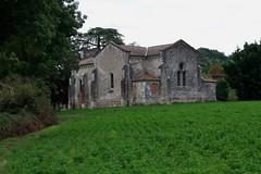 Sermet, Eglise, (arrière). Castelmoron-sur-Lot