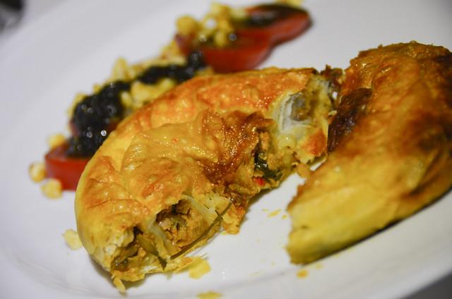 Comida turca del restaurante Asitane