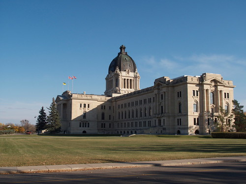 Saskatchewan Legislature, from the West