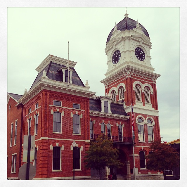 The Historic Newton County Courthouse in Covington, Georgia
