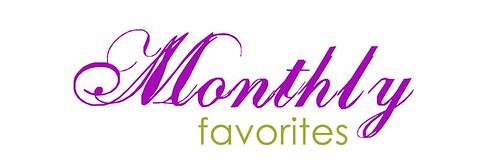 monthlyfavorites