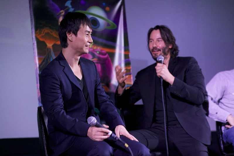 Keanu Reeves & Tiger Chen