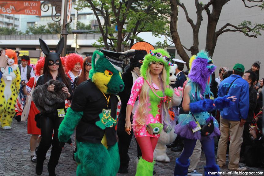 Kawasaki Halloween Parade 2013