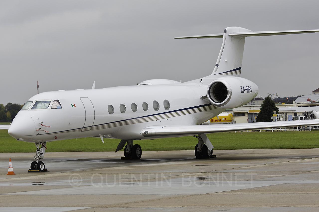 Private Gulfstream G-V XA-MPS