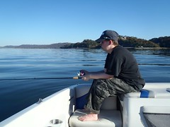 Fishing Lake Guntersville
