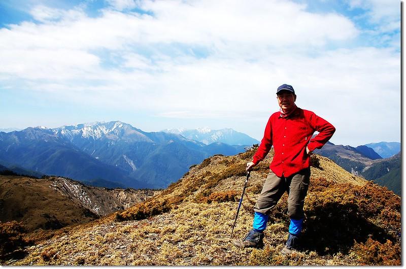 天南可蘭山山頂(Elev. 3404 m)