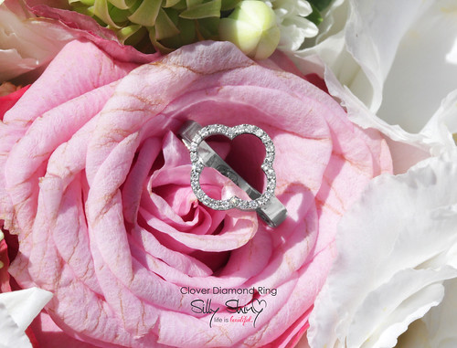 Clover Diamond Ring 14K gold