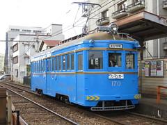 Hankai Tramway 170 (November 2013)
