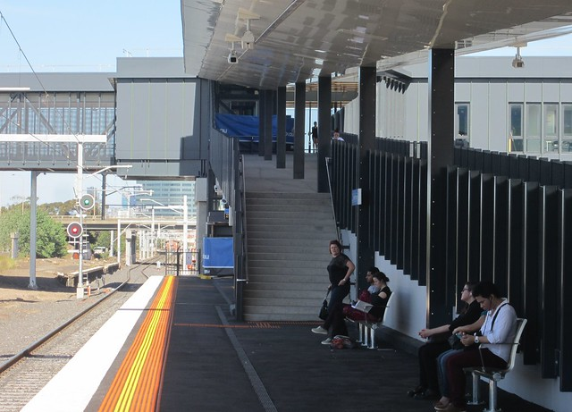 West Footscray station, platform 1