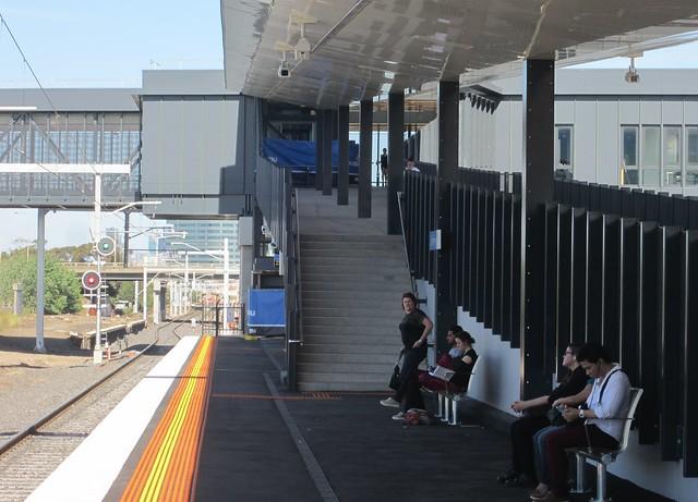 West Footscray station, platform 1